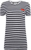 Zoe Karssen Hearts Stripes Tee