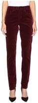 FDJ French Dressing Jeans Olivia Slim Leg Plush Cord in Cabernet