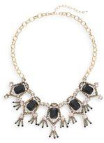 Saks Fifth Avenue Stone Bib Necklace