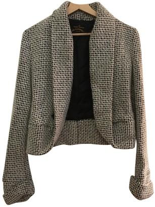 Vivienne Westwood Ecru / Black Wool Jackets