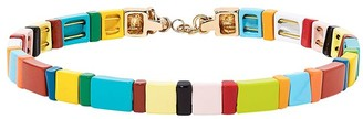 Roxanne Assoulin Rainbow Brite Block Party choker