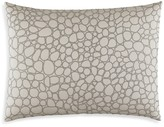 "Vera Wang Crochet Lace Bubble Embroidery Decorative Pillow, 15"" x 20"""