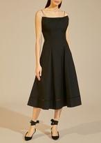 KHAITE The Claudia Dress in Black