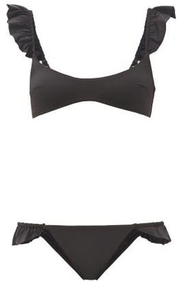 Zimmermann Bonita Frilled Bikini - Black