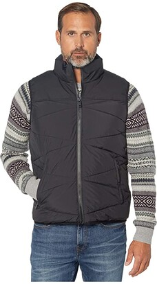 UGG Curtis Puffer Vest (Black) Men's Clothing