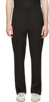 Lanvin Black Wool Trousers