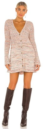 Free People Rachel Cardigan Sweater Dress