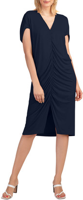 Trina Turk Dawn Ruched Midi Dress