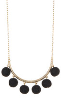 Yochi Shake Your Pom Pom Necklace