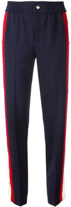 Gucci snap button trousers