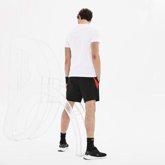 Lacoste Men's SPORT Novak Djokovic Crew Neck Print Tech Jersey T-shirt
