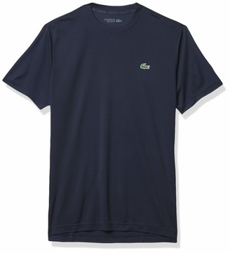 Lacoste Men's Sport Short Sleeve Solid Ultra Dry T-Shirt
