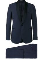 Lardini shawl lapel two-piece suit - men - Cotton/Cupro/Viscose/Wool - 50