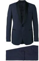 Lardini shawl lapel two-piece suit - men - Cotton/Cupro/Viscose/Wool - 54