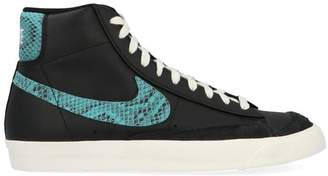 Nike Blazer High Top Lace-Up Sneakers