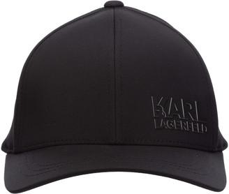 Karl Lagerfeld Paris Logo Baseball Cap