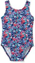 Old Navy Bow-Back Floral Swimsuit for Toddler Girls
