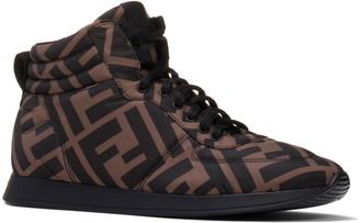 Fendi FF High Top Sneaker
