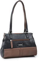 JCPenney STONE AND CO Stone & Co. Donna Leather Satchel