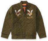 Ralph Lauren 2-7 Quilted Cotton Bomber Jacket
