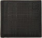 Loewe Black Engraved Bifold Wallet