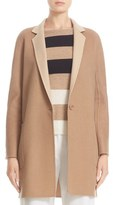 Max Mara Lillo Wool & Cashmere Bicolor Coat
