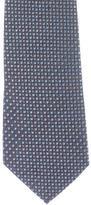 Ermenegildo Zegna Silk Tile Print Tie