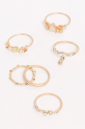 Free People Stardust Ring Set