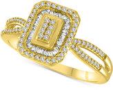 Macy's Diamond Halo Ring (1/4 ct. t.w.)