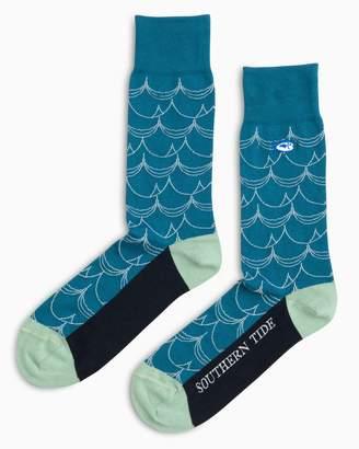Southern Tide Catch a Wave Socks