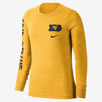 Nike Women's Long-Sleeve T-Shirt College (West Virginia)