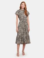 Munthe Ernie Flounce Midi Dress