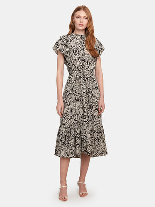 Munthe Ernie Flounce Midi Dress