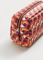 Violeta BY MANGO Saffiano-Effect Cosmetic Bag