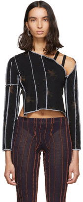 Helenamanzano Black Ghost Orchid Rave Top