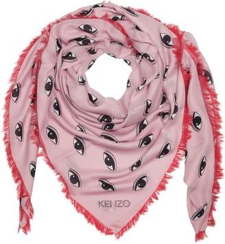 Kenzo Contrasted Multieyes Modal & Silk Wrap
