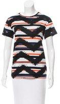 Proenza Schouler Short Sleeve Striped T-Shirt