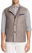 Eleventy Storm System® Wool Silk Vest