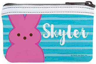 Box Girls Tv's Toy Box TV's Toy Box Girls' Coin Purses Blue - PEEPS Bunny Personalized Coin Purse
