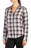 Paige Women's Clea Plaid Silk Shirt