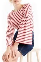 J.Crew Women's Bell Sleeve Stripe Tee