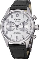 Alpina Men's AL860SC4S6 Aviation Analog Display Swiss Automatic Black Watch