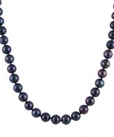 Bella Pearl Black Pearl & Sterling Silver Necklace