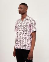 Carhartt WIP Short Sleeve Pine Hawaii Shirt Pink