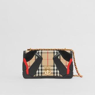 Burberry Small Applique Vintage Check Lola Bag