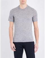Joseph Crewneck Wool-jersey T-shirt