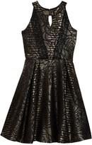 Trixxi Foiled Gigi Dress (Big Girls)