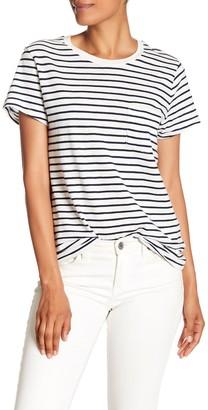 Madewell Short Sleeve Stripe T-Shirt (Regular & Plus Size)