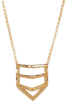 Botkier Split Vertical Diamond Pendant Necklace