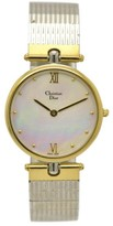 Christian Dior 3026 Stainless Steel & Gold Plated Quartz 30mm Mens Watch